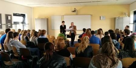 In the first the Headmaster of the host school, Jur, introduce the meeting